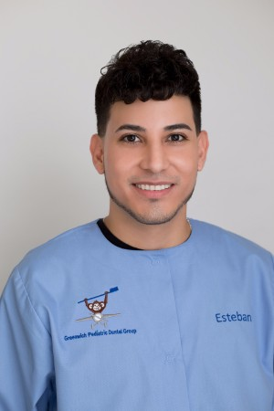 Esteban, Front Desk Coordinator at the Pediatric Dentist in Greenwich, CT