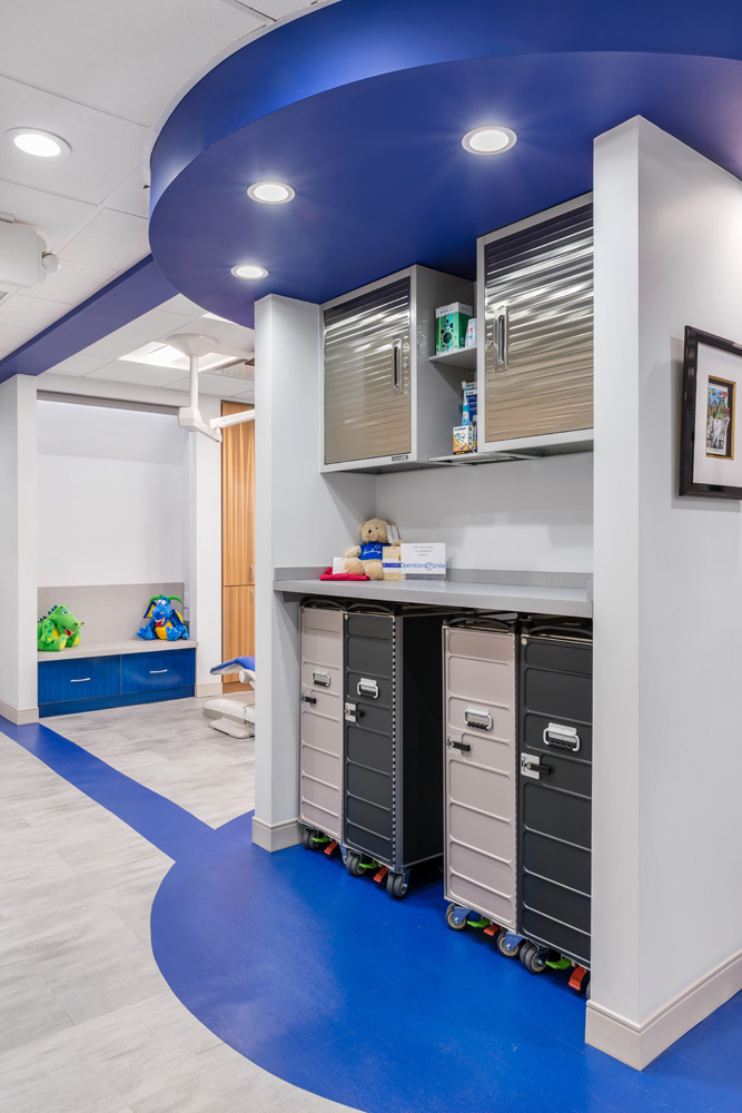 Storage Area for the Pediatric Dentist in Greenwich, CT