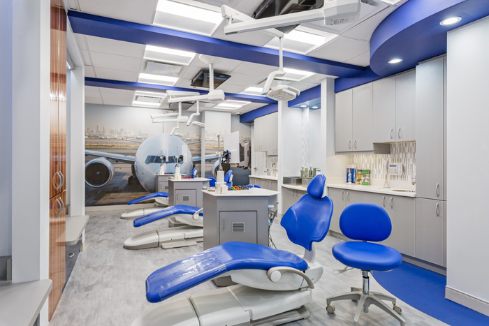 Hygiene Area at Greenwich Pediatric Dental Group, LLC